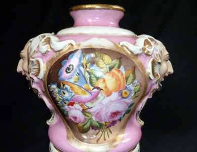 Restaurer vase chinois